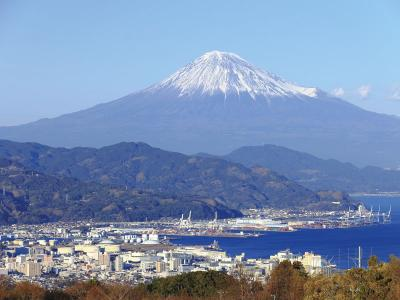 Mt. Fuji from Nihondaira Yume Terrace