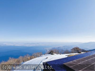 Biwako Terrace ※There might be no snow